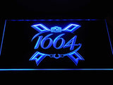 1664 Beer LED Neon Sign USB - Blue - TheLedHeroes