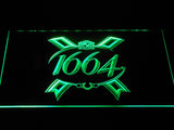 1664 Beer LED Neon Sign USB - Green - TheLedHeroes
