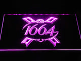 1664 Beer LED Neon Sign USB - Purple - TheLedHeroes