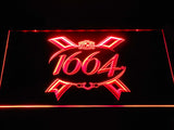 1664 Beer LED Neon Sign USB - Red - TheLedHeroes