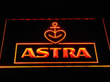 Astra Beer LED Neon Sign USB - Orange - TheLedHeroes