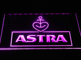 Astra Beer LED Neon Sign USB - Purple - TheLedHeroes
