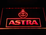 Astra Beer LED Neon Sign USB - Red - TheLedHeroes