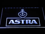 Astra Beer LED Neon Sign USB - White - TheLedHeroes