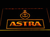 Astra Beer LED Neon Sign USB - Yellow - TheLedHeroes