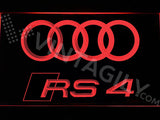 Audi RS4 LED Sign