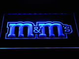 M&M's LED Neon Sign USB - Blue - TheLedHeroes
