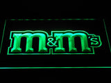 M&M's LED Neon Sign USB - Green - TheLedHeroes