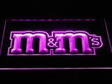 M&M's LED Neon Sign USB - Purple - TheLedHeroes