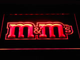 M&M's LED Neon Sign USB - Red - TheLedHeroes
