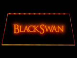 FREE Black Swan LED Sign - Orange - TheLedHeroes