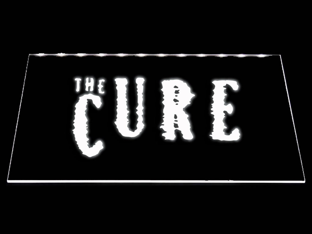 The Cure LED Neon Sign USB - White - TheLedHeroes