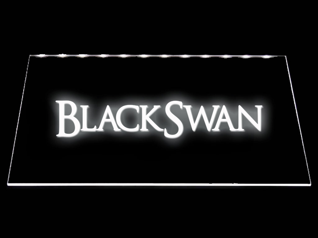 FREE Black Swan LED Sign - White - TheLedHeroes