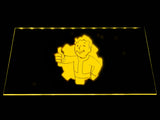 Fallout Vault Boy (2) LED Sign - Yellow - TheLedHeroes