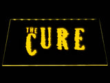 The Cure LED Neon Sign USB - Yellow - TheLedHeroes