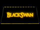 FREE Black Swan LED Sign - Yellow - TheLedHeroes