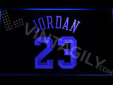 FREE Michael Jordan 23 LED Sign - Blue - TheLedHeroes