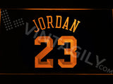 FREE Michael Jordan 23 LED Sign - Orange - TheLedHeroes