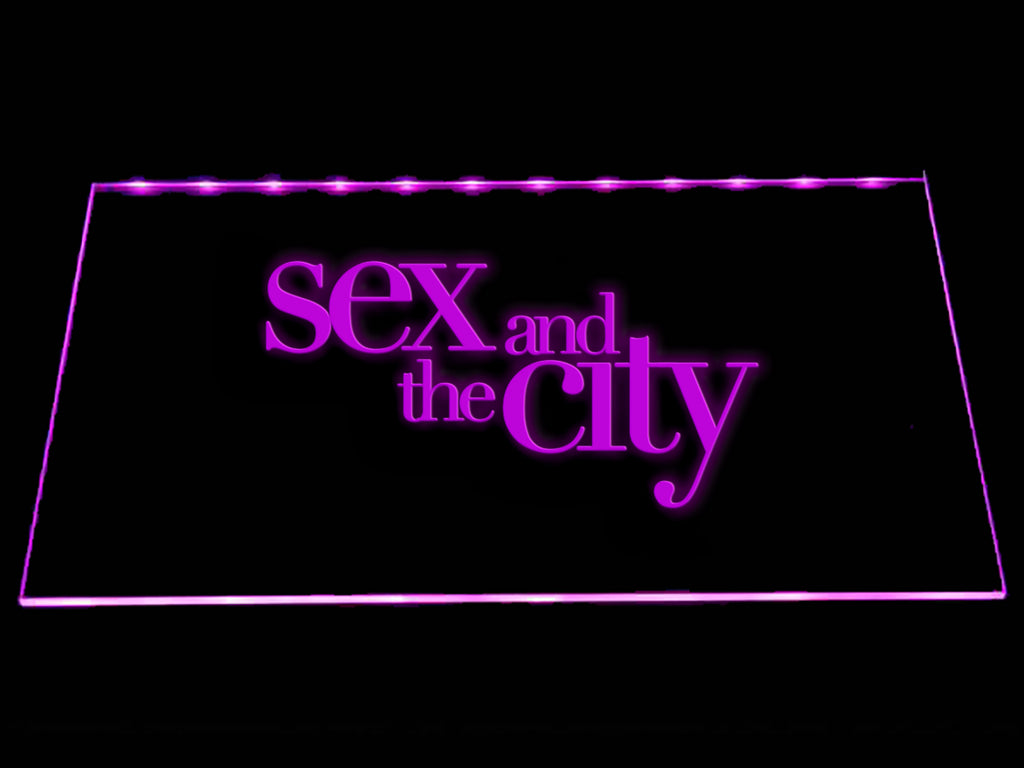 FREE Sex and the City LED Sign - Purple - TheLedHeroes
