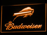 Buffalo Bills Budweiser LED Neon Sign Electrical - Orange - TheLedHeroes
