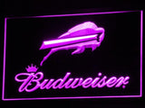 Buffalo Bills Budweiser LED Neon Sign Electrical - Purple - TheLedHeroes