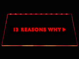 13 Reasons Why LED Neon Sign USB - Red - TheLedHeroes