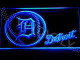 Detroit Tigers Baseball LED Sign - Blue - TheLedHeroes