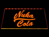 Fallout Nuka-Cola LED Sign - Orange - TheLedHeroes