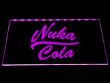 Fallout Nuka-Cola LED Sign - Purple - TheLedHeroes