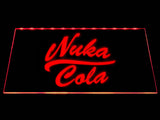FREE Fallout Nuka-Cola LED Sign - Red - TheLedHeroes