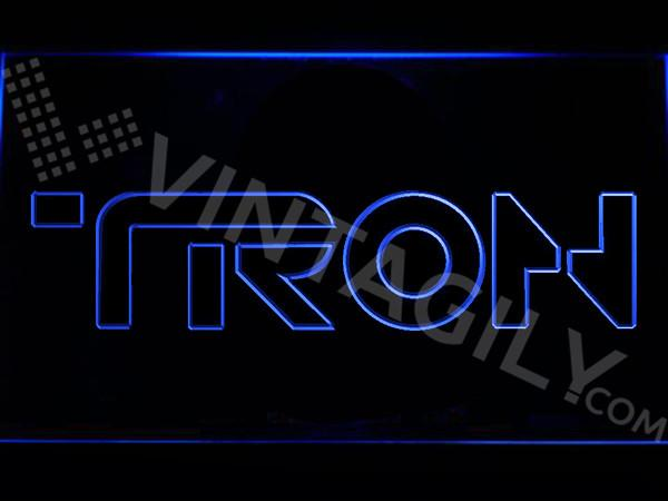Tron  LED Neon Sign USB - Blue - TheLedHeroes