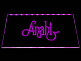 Anah?`LED Neon Sign USB - Purple - TheLedHeroes