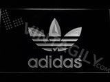FREE Adidas original LED Sign - White - TheLedHeroes