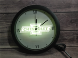 Chevrolet LED Wall Clock - Multicolor - TheLedHeroes