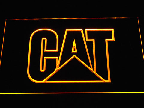 FREE Caterpillar LED Sign - Yellow - TheLedHeroes