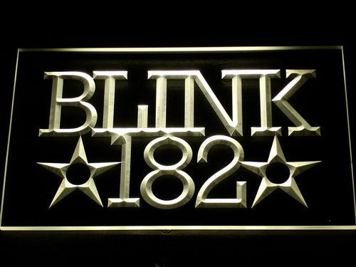 Blink 182 Rock n Roll Music Bar LED Sign - Multicolor - TheLedHeroes