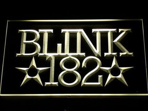 Blink 182 Rock n Roll Music Bar LED Sign