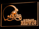 Cleveland Browns (2) LED Neon Sign USB - Orange - TheLedHeroes