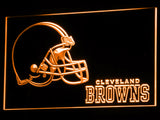 FREE Cleveland Browns (2) LED Sign - Orange - TheLedHeroes