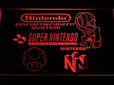 FREE Super Nintendo LED Sign - Red - TheLedHeroes