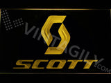 FREE Scott LED Sign - Yellow - TheLedHeroes
