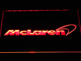 McLaren LED Neon Sign USB - Red - TheLedHeroes