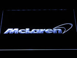 McLaren LED Neon Sign USB - White - TheLedHeroes