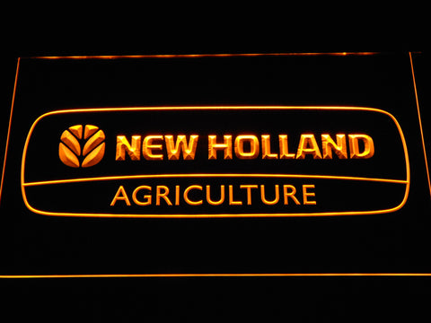 FREE New Holland Agriculture LED Sign - Yellow - TheLedHeroes