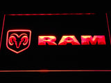 FREE Dodge RAM LED Sign - Red - TheLedHeroes