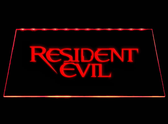Resident Evil LED Sign - Red - TheLedHeroes