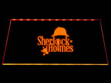 FREE Sherlock Holmes (2) LED Sign - Orange - TheLedHeroes