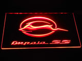 Chevrolet Impala SS LED Neon Sign USB - Red - TheLedHeroes