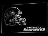 Seattle Seahawks (3) LED Neon Sign USB - White - TheLedHeroes