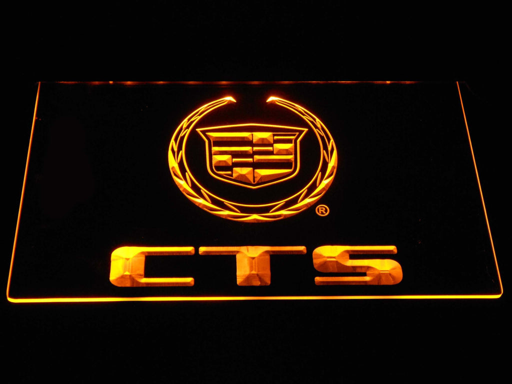 Cadillac CTS LED Neon Sign Electrical - Yellow - TheLedHeroes